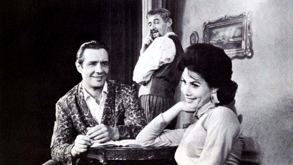 Cesare Diepi, David Opatoshu, and Michele Lee in Bravo Giovanni