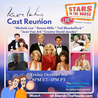 Knots Landing Reunion on Stars in the House